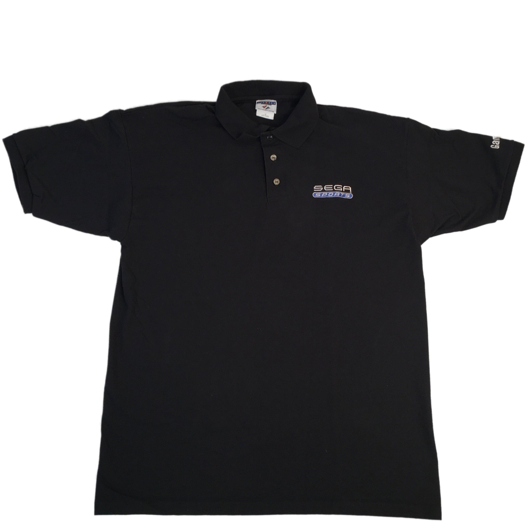 "Vintage GameStop ""Sega Sports"" Polo Shirt"