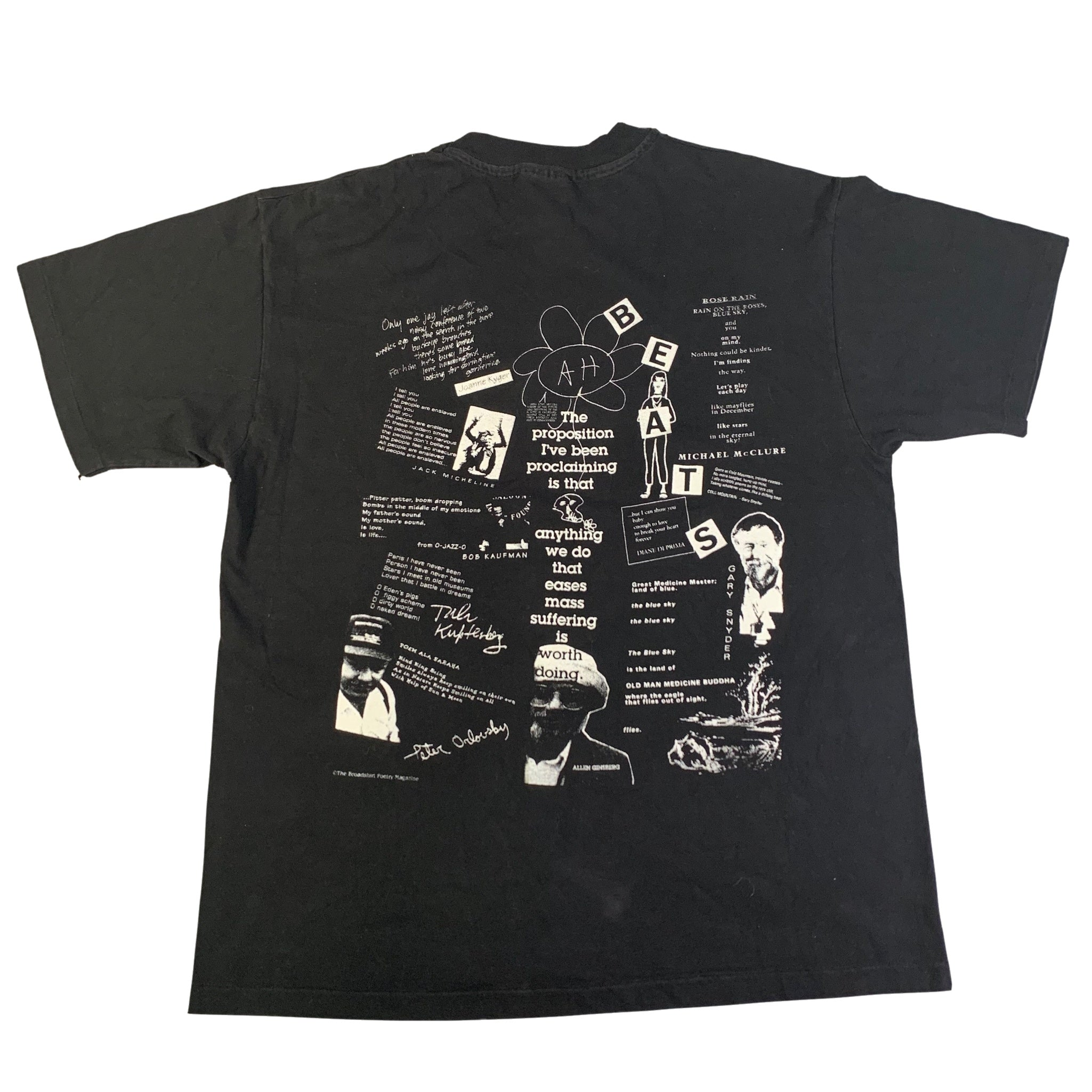 "Vintage The Broadshirt Poetry Magazine ""Issue 1"" T-Shirt"