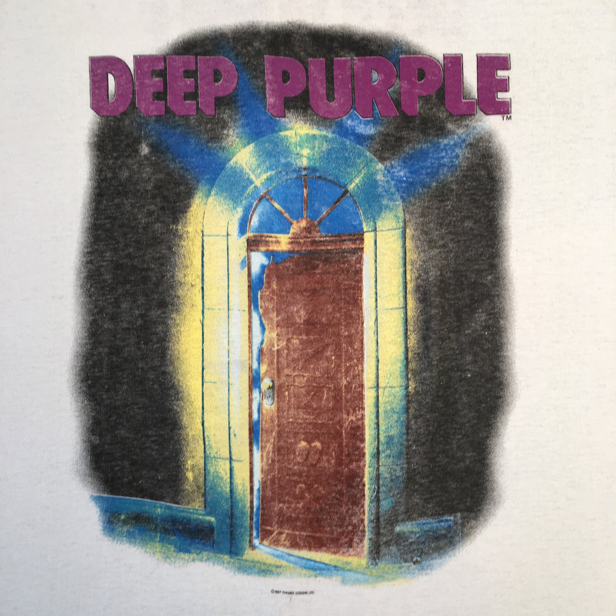 "Vintage Deep Purple ""House Of Blue Light"" T-Shirt"
