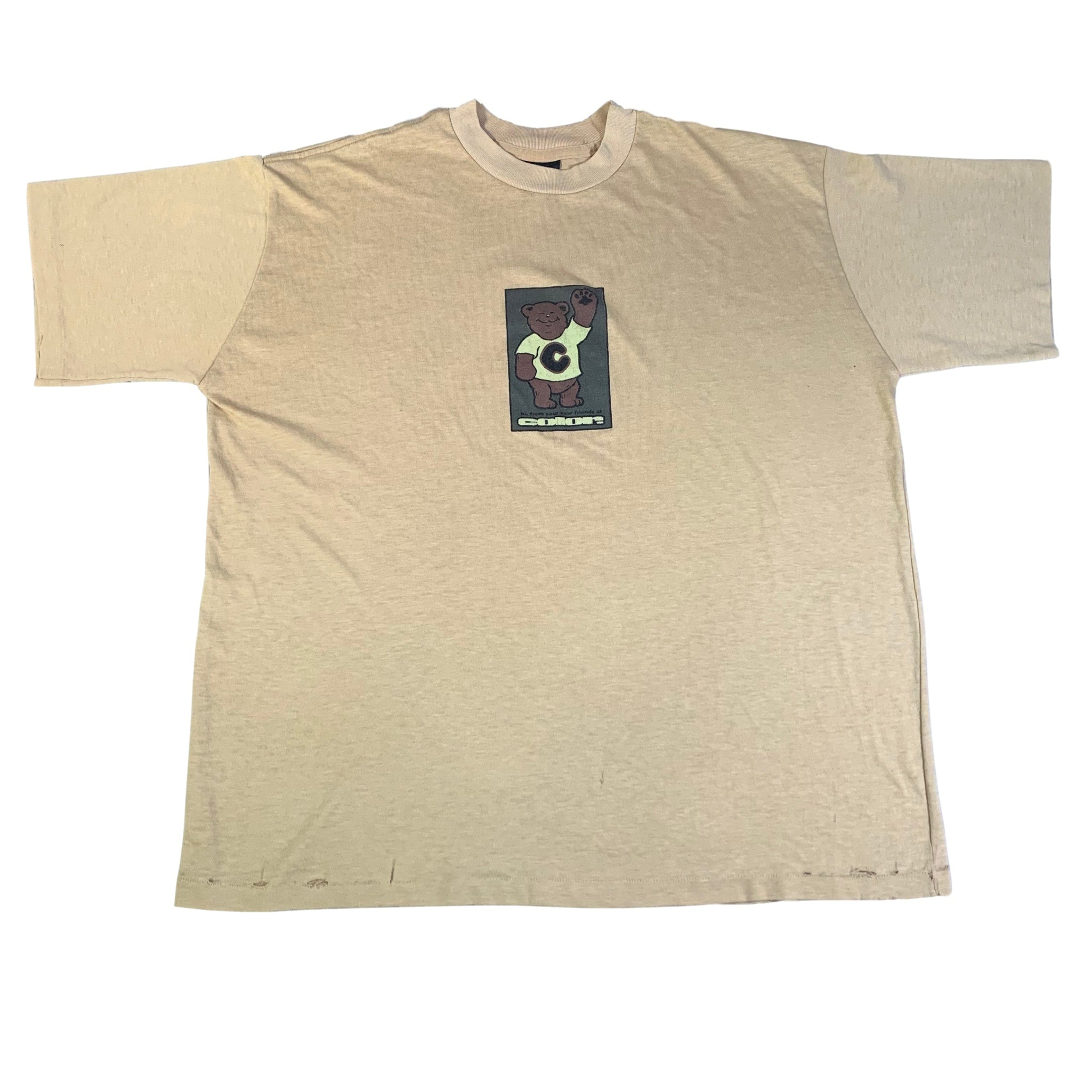 "Vintage Color Skateboards ""The Color Bear'"" T-Shirt"