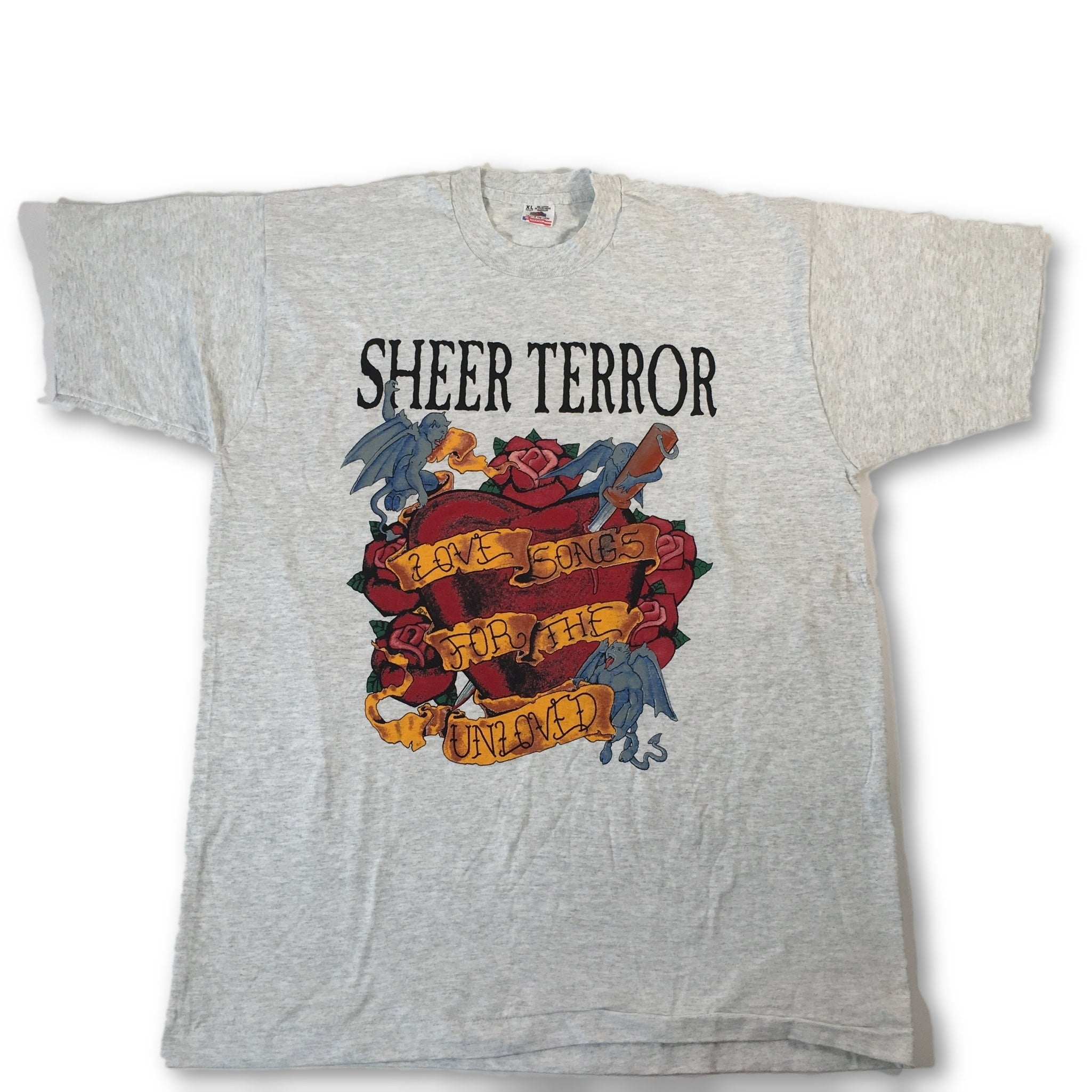 "Vintage Sheer Terror ""Love Songs"" T-Shirt"