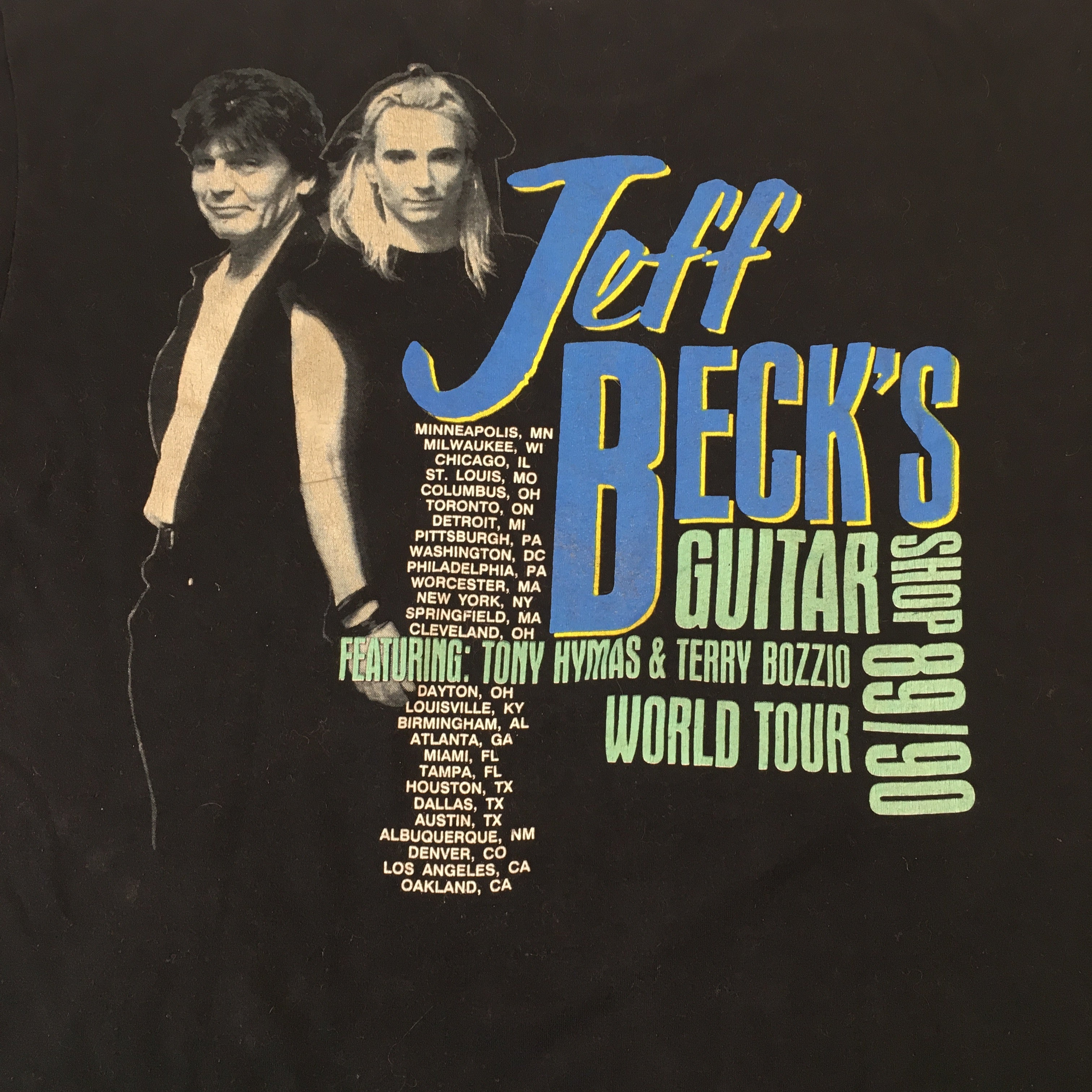 "Vintage Jeff Beck ""Guitar Shop"" T-Shirt"