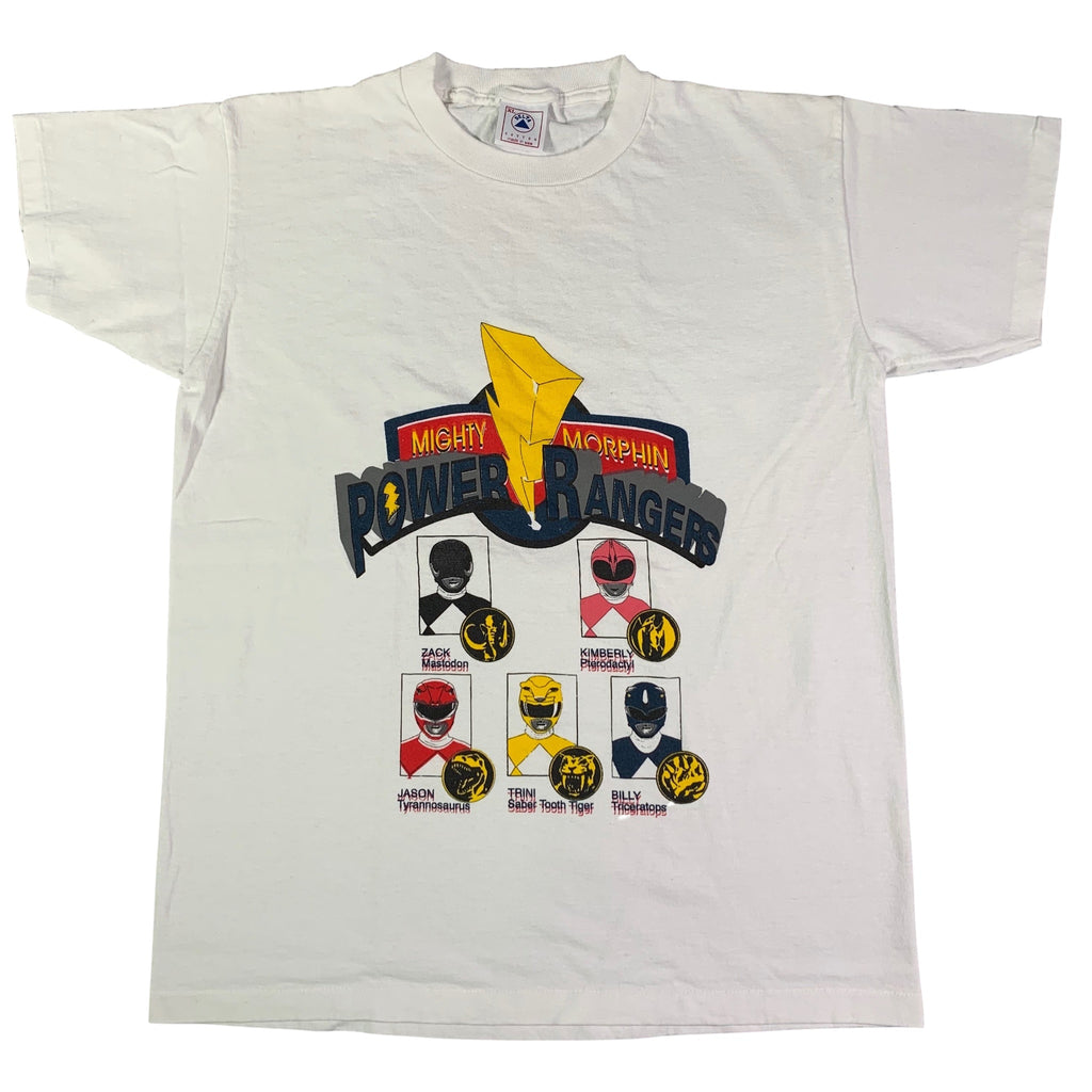 "Vintage Mighty Morphin ""Power Rangers"" T-Shirt"
