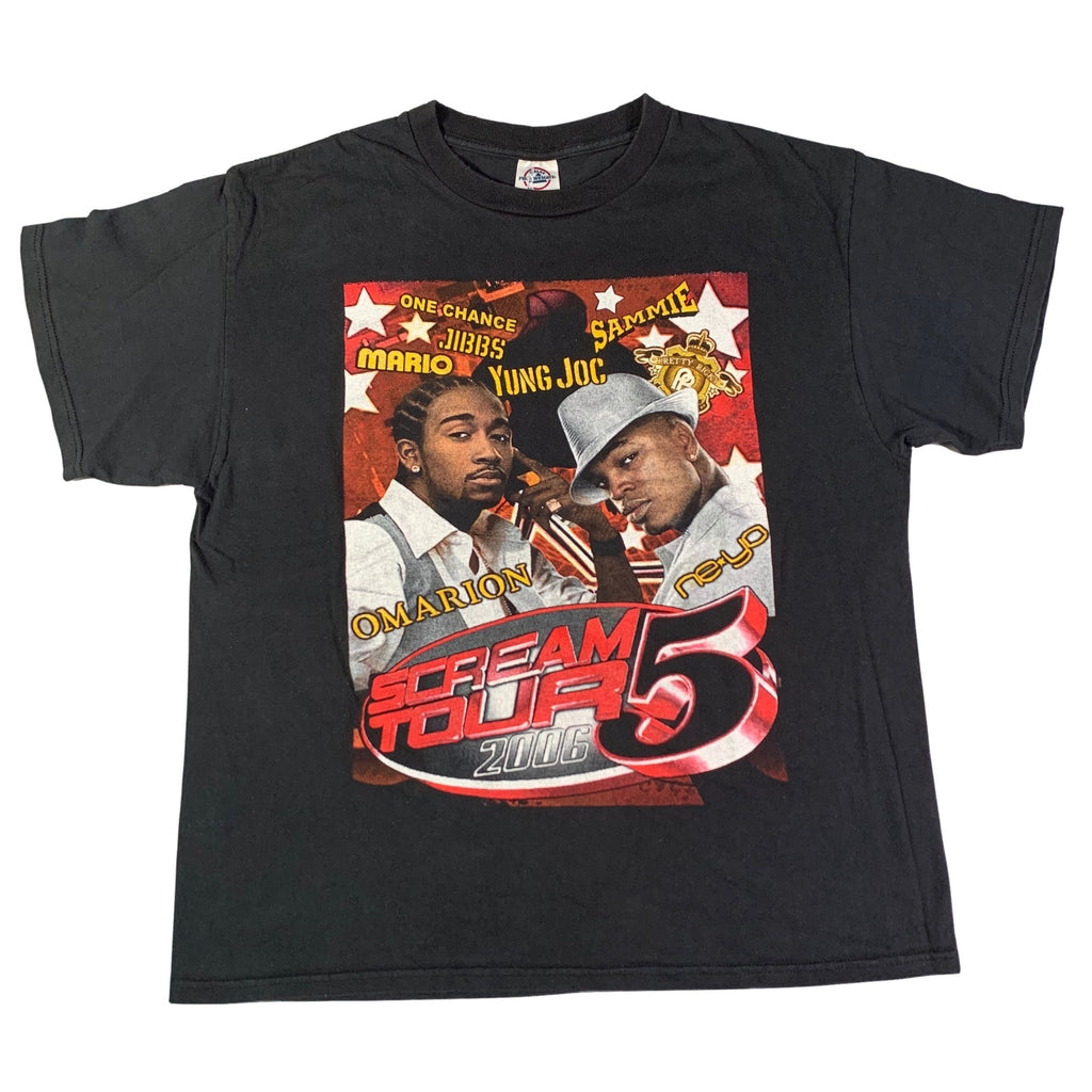 "Vintage Omarion/Ne-Yo ""Scream Tour"" T-Shirt"
