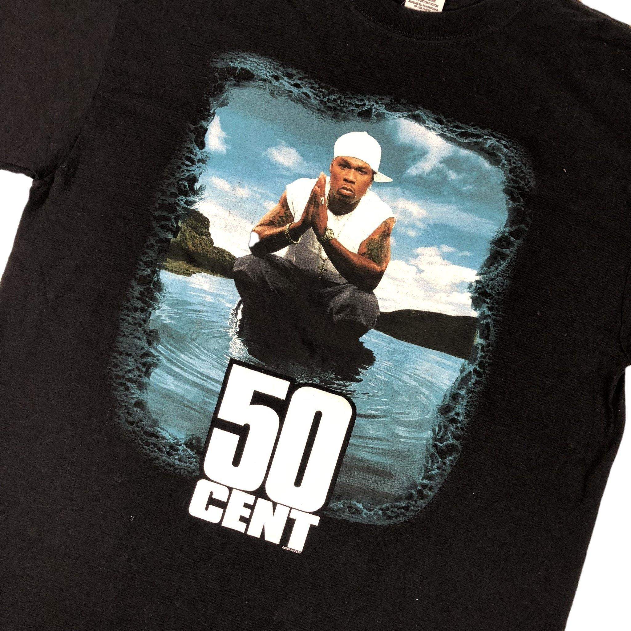 "Vintage 50 Cent ""In a Lake"" T-Shirt"