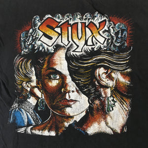 "Vintage Styx ""Man Of Miracles"" T-Shirt"