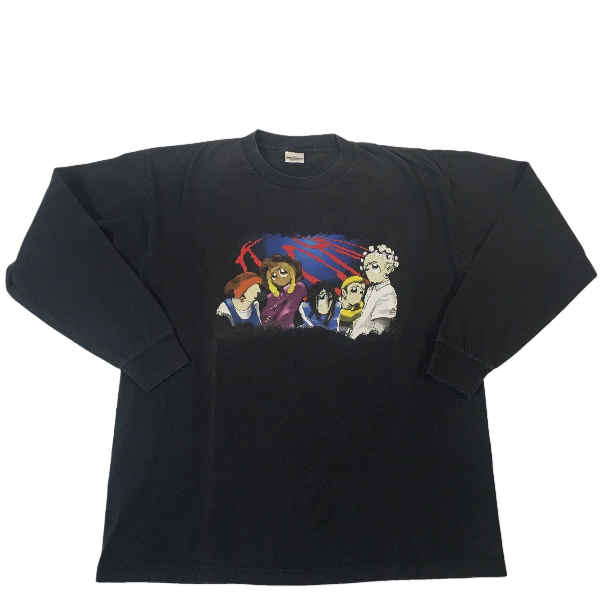 "Vintage Korn ""Cartoon"" Long Sleeve Shirt"