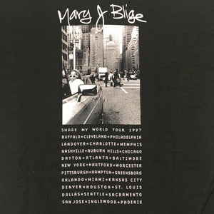 "Vintage Mary J Blige ""97 Tour"" T-Shirt"