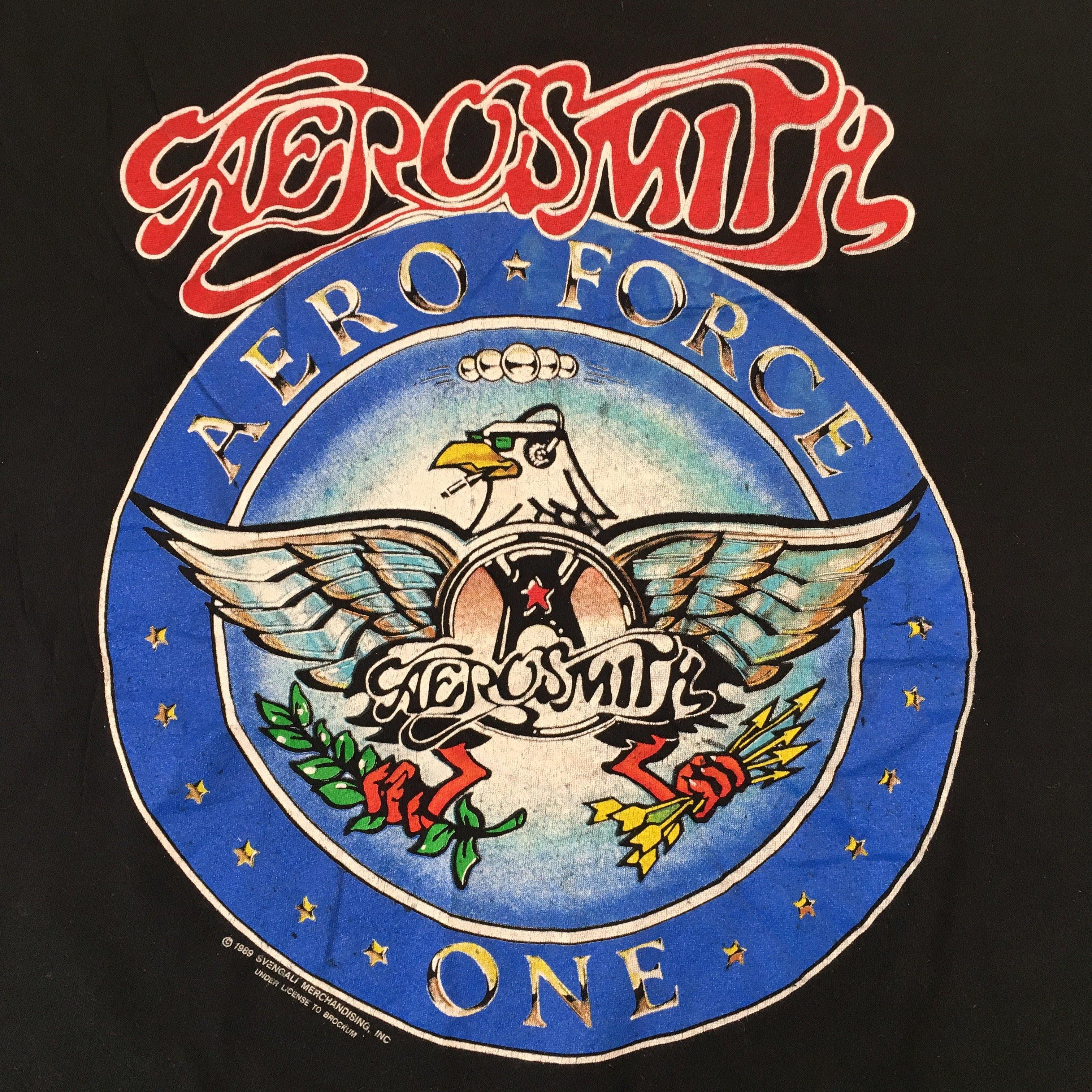 "Vintage Aerosmith ""Aero-force"" T-Shirt"