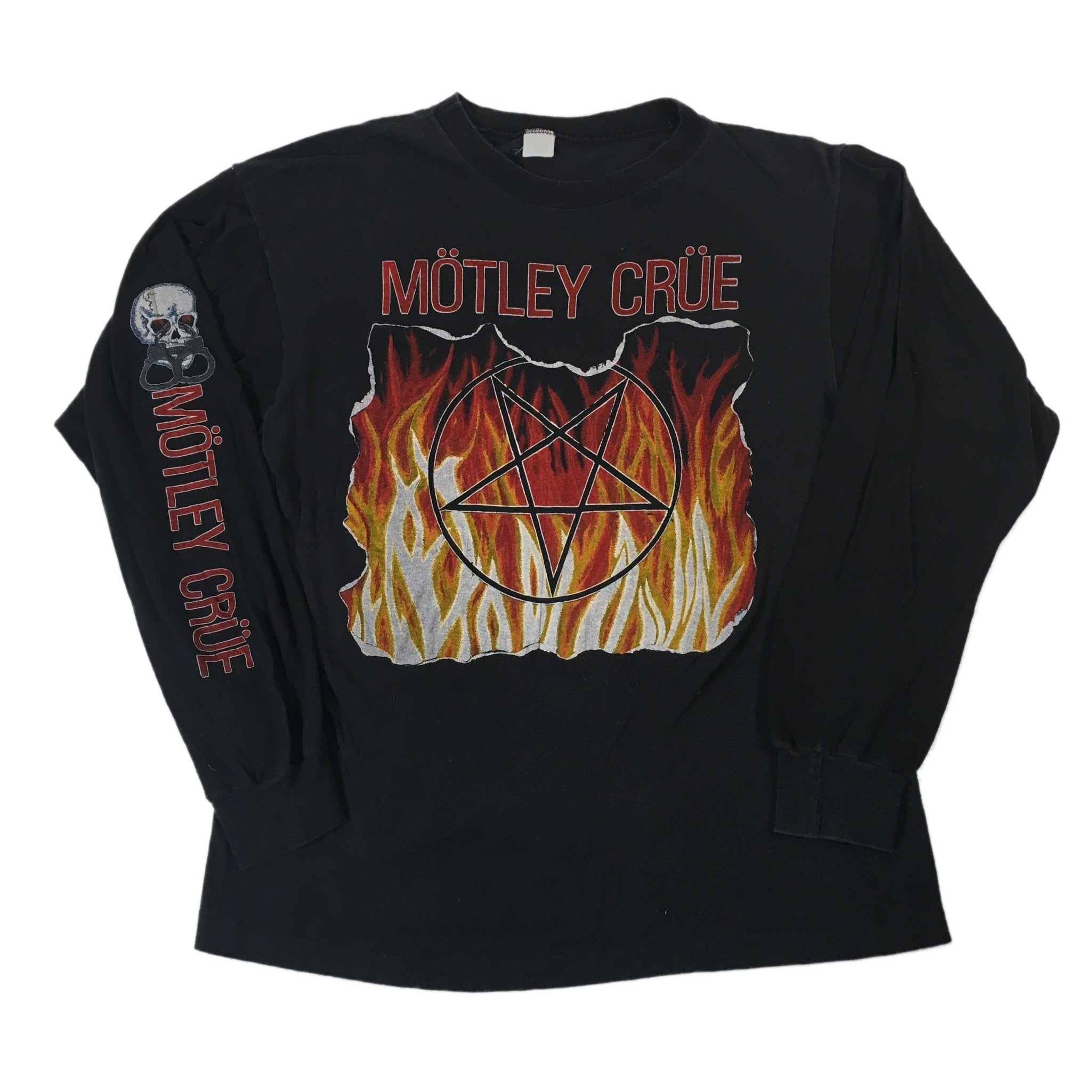 "Vintage Motley Crue ""83-84"" Long Sleeve Shirt"