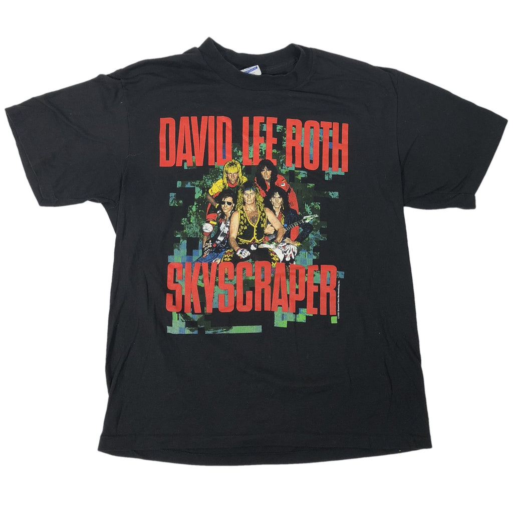 "Vintage David Lee Roth ""Skyscrapers"" T-Shirt"