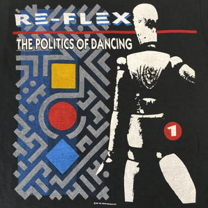 "Vintage Re-Flex ""Politics Of Dancing"" T-Shirt"