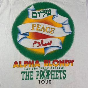 "Vintage Alpha Blondy & The Solar System ""The Prophets"" T-Shirt"