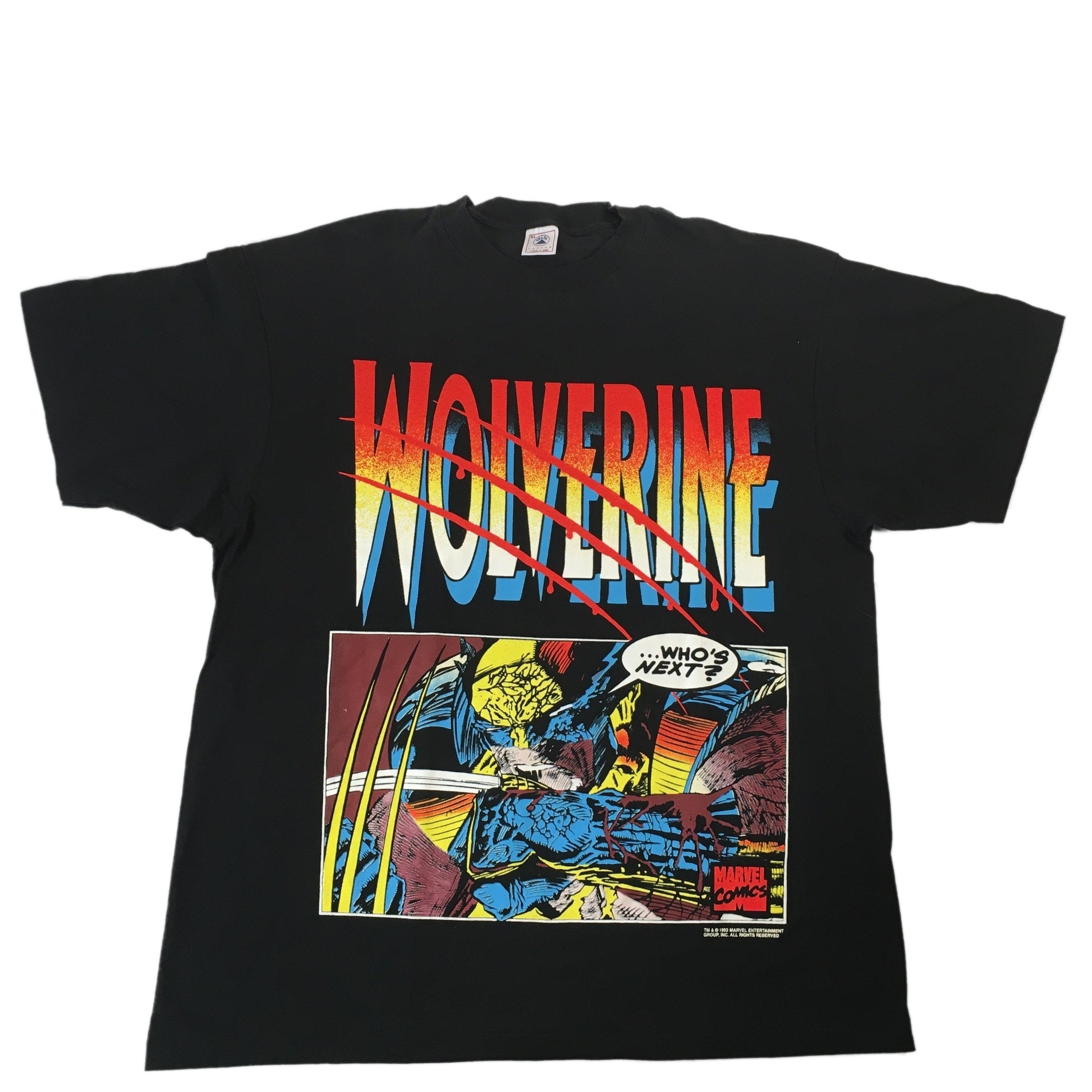 "Vintage Wolverine ""Who's Next"" T-Shirt"