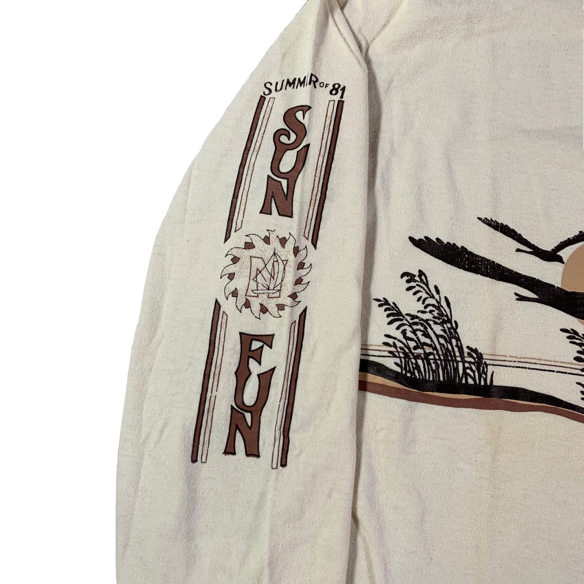 "Vintage Summer of '81 ""Sun Fun"" Long Sleeve Shirt"