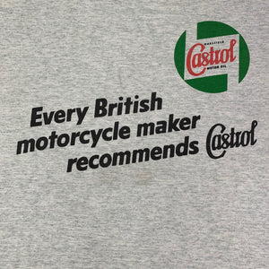 "Vintage Castrol Oil Motorcycle ""Isle Of Man"" T-Shirt"