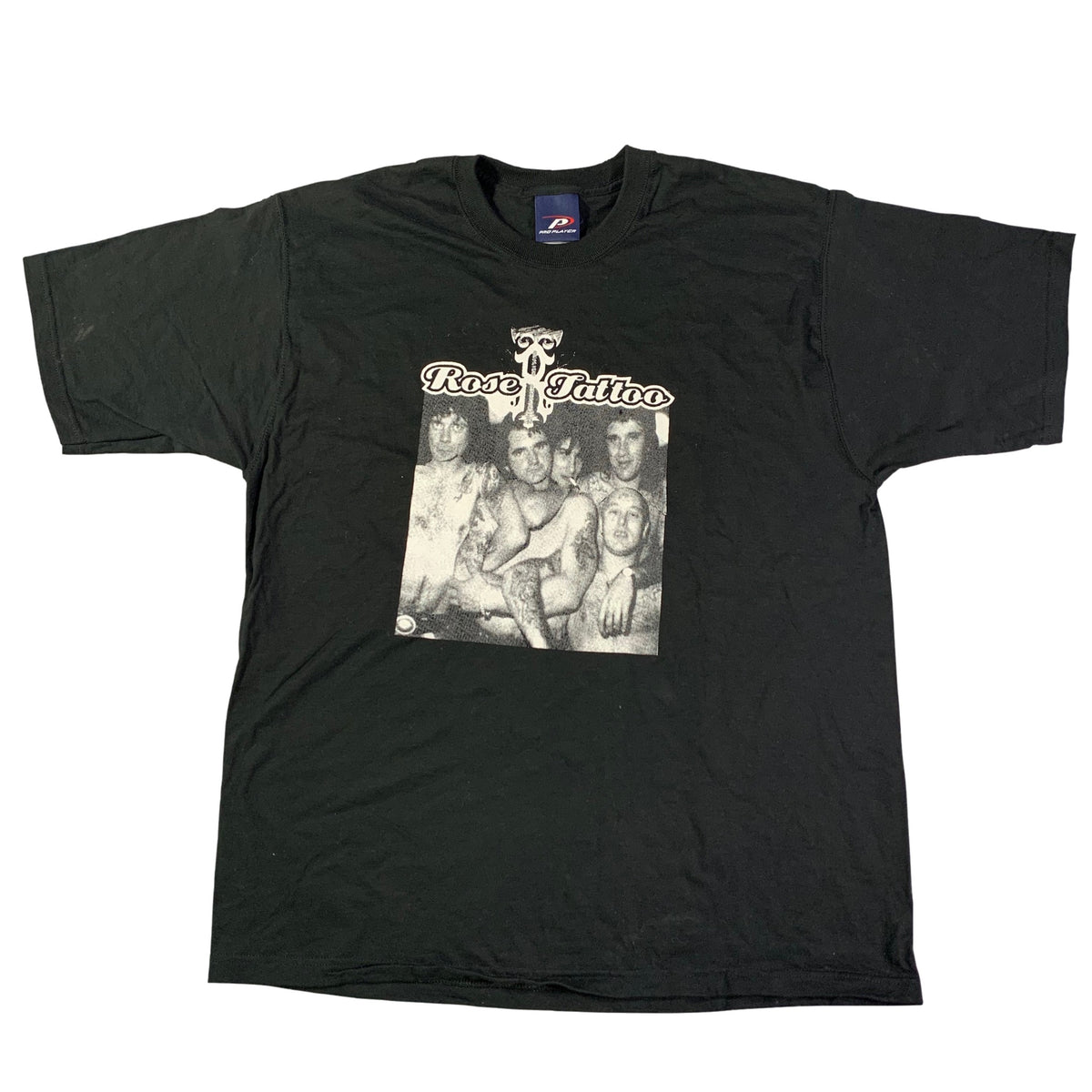 "Vintage '90s Rose Tattoo ""Group Photo"" T-Shirt"