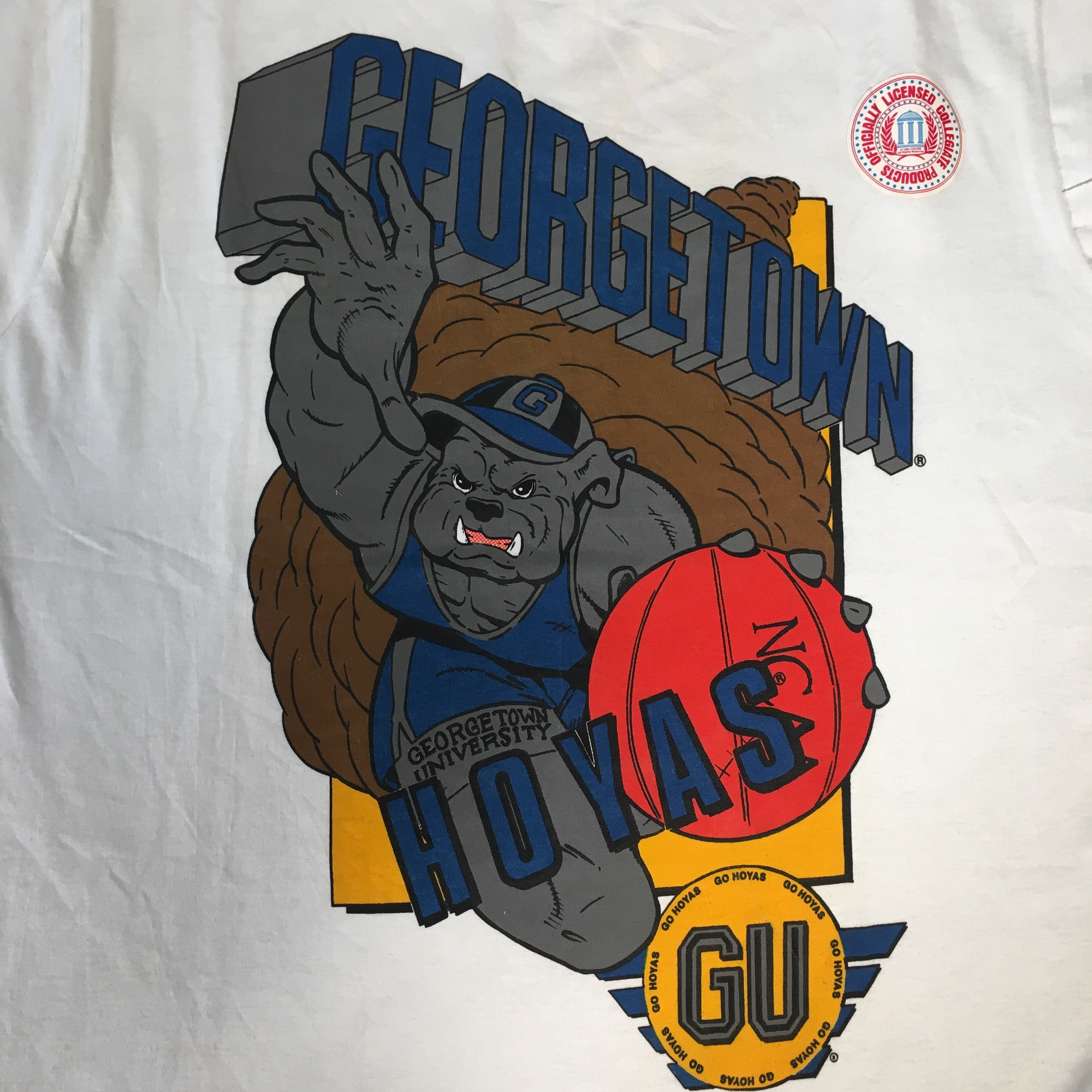 "Vintage Georgetown University ""Hoyas"" T-Shirt"