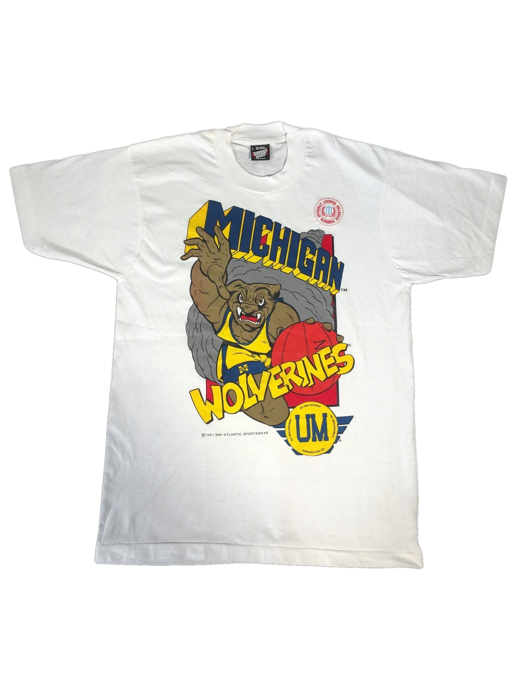 "Vintage Michigan ""Wolverines"" T-Shirt"