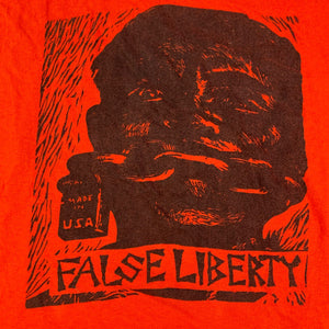 "Vintage False Liberty ""Silence Is Consent"" T-Shirt"