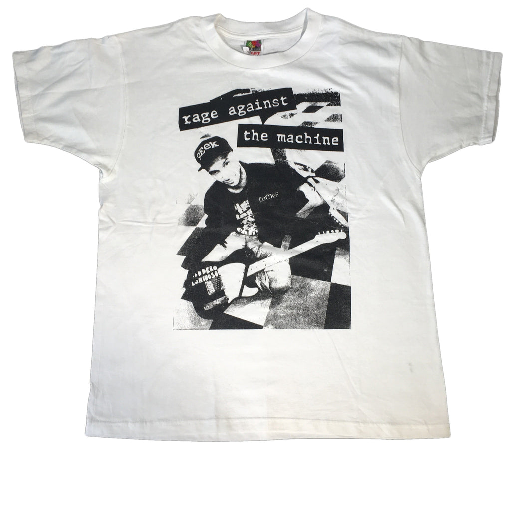 "Vintage Rage Against The Machine ""Tom Morello"" T-Shirt"