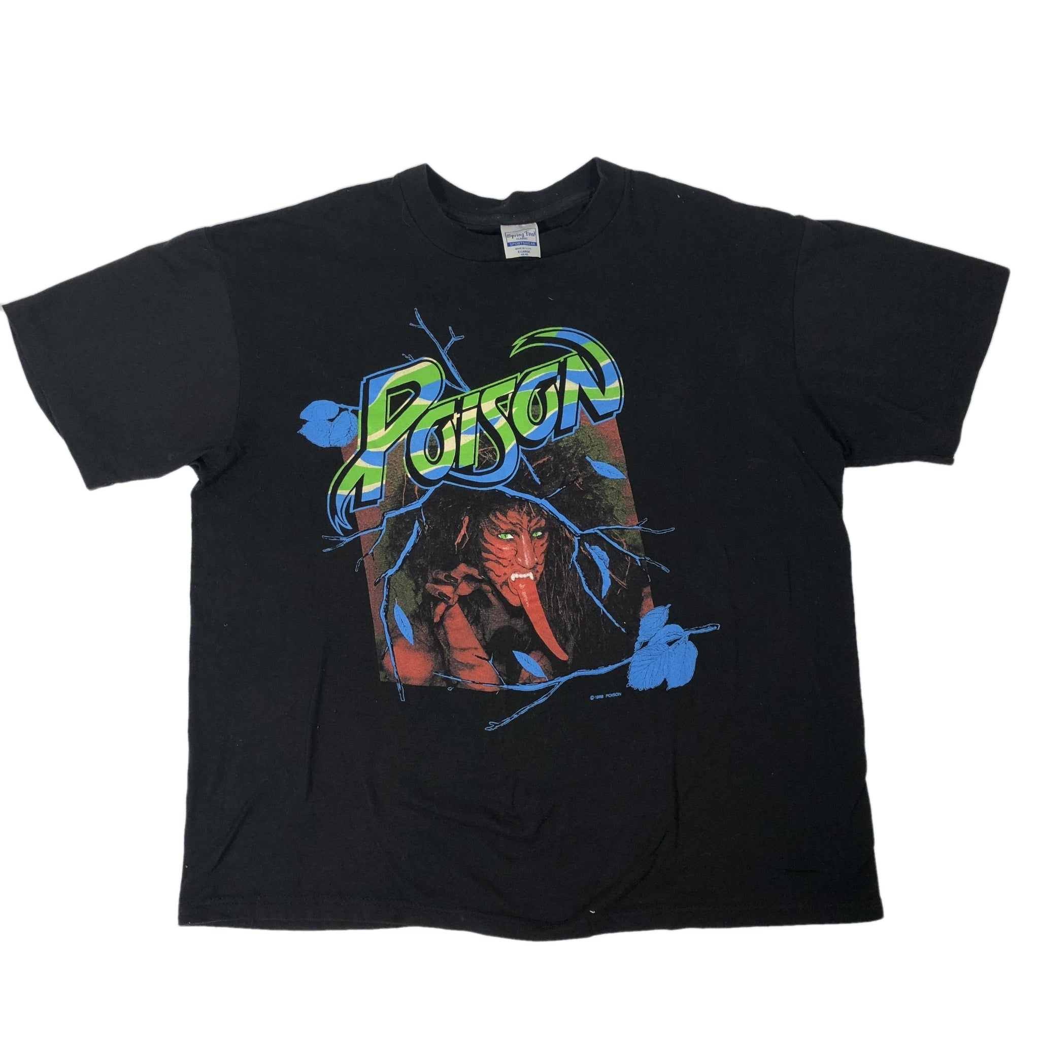"Vintage Poison ""Open Up And Say Ahh"" T-Shirt"