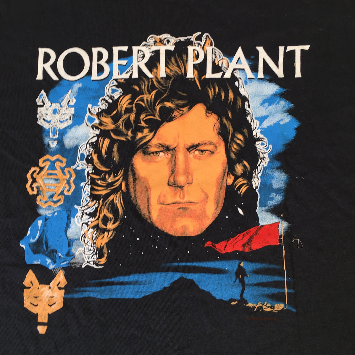 "Vintage Robert Plant ""Now And Zen"" T-Shirt"