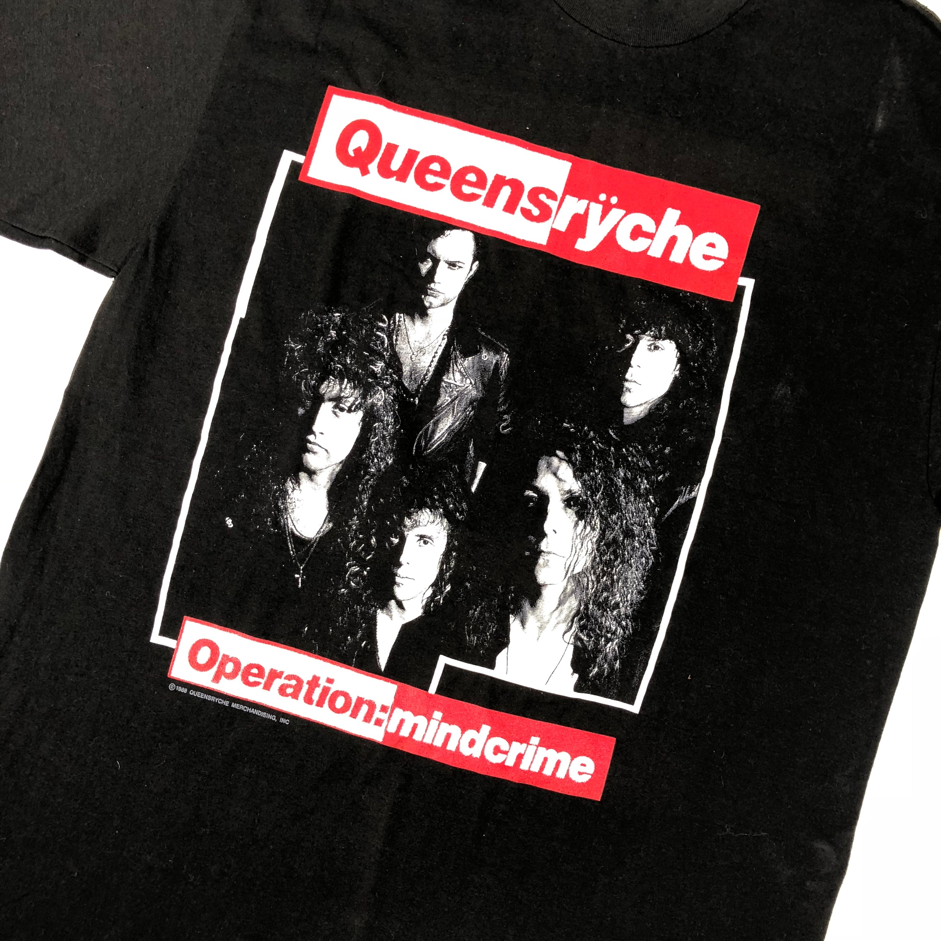 "Vintage Queensryche ""Operation: Mindcrime"" T-Shirt"