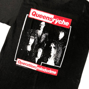"Vintage Queensryche ""Operation: Mindcrime"" T-Shirt - jointcustodydc"