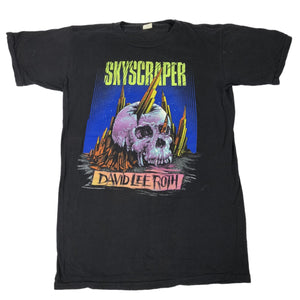 "Vintage David Lee Roth "" Skyscraper Skull"" T-Shirt"