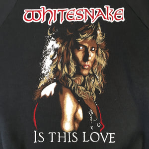 "Vintage Whitesnake ""Is This Love"" Crewneck"