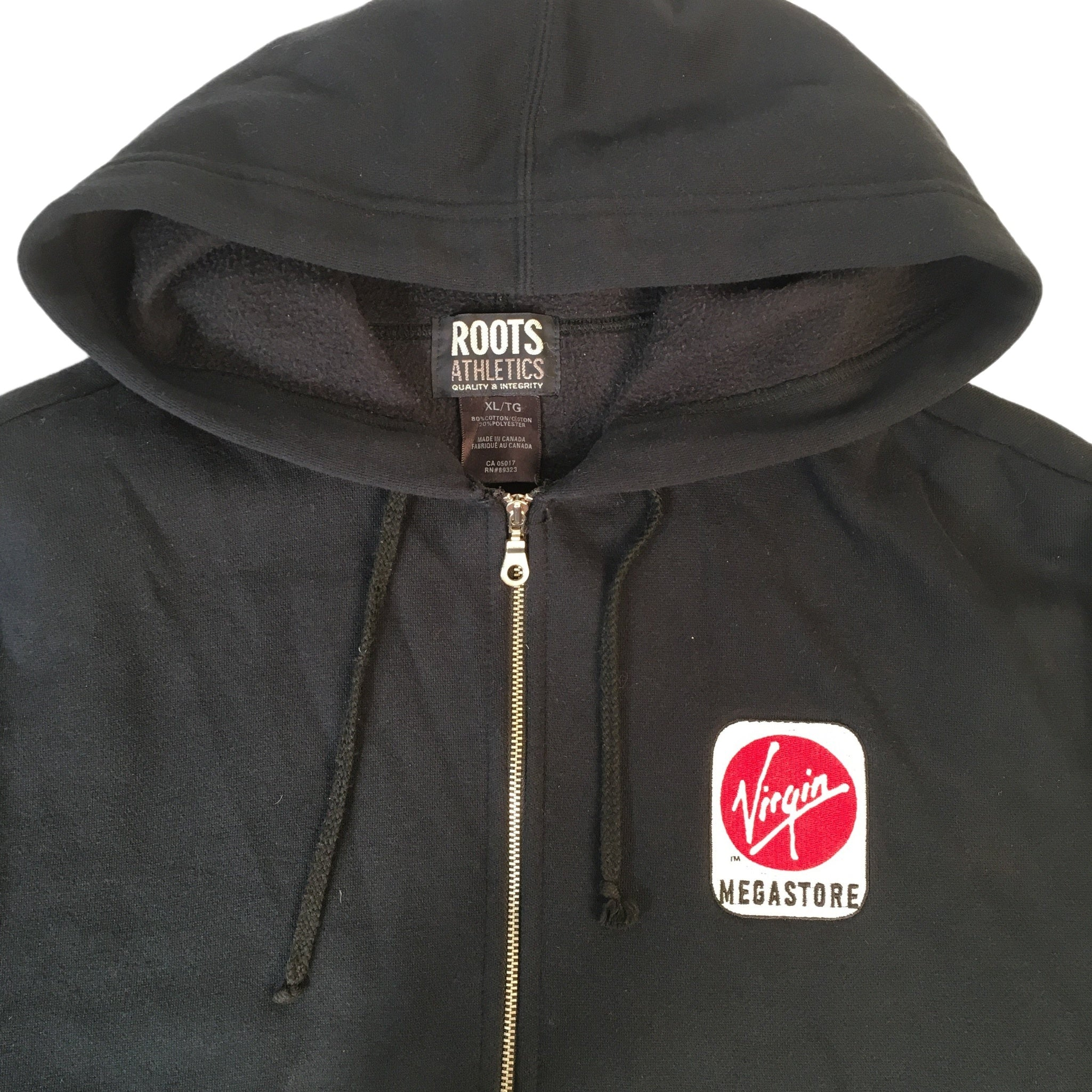 "Vintage Virgin Megastore ""Staff"" Zip-up"