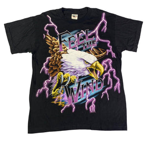 "Vintage American Thunder ""Feel The Wind"" T-Shirt"