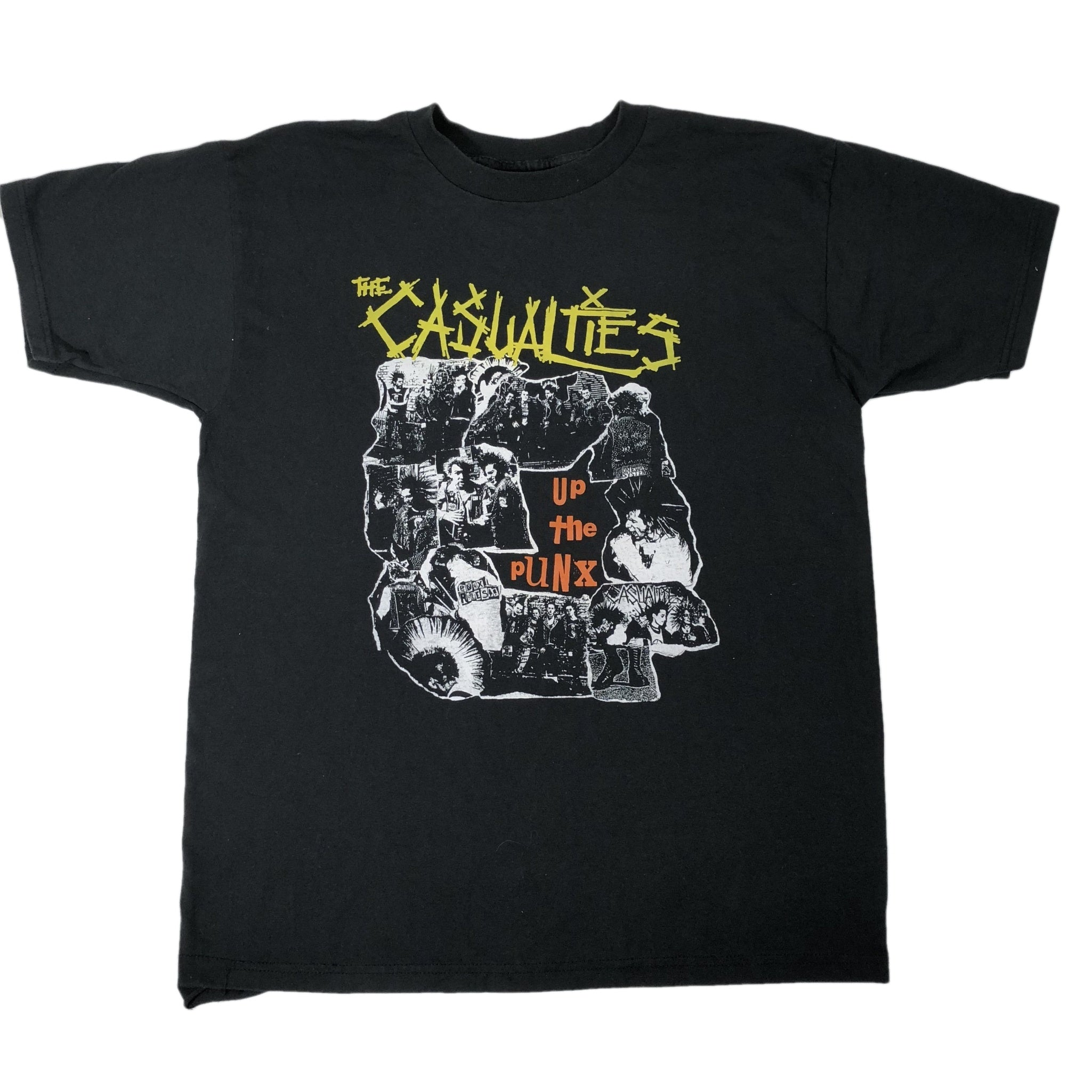 "Vintage The Casualties ""Up The Punx"" T-Shirt"