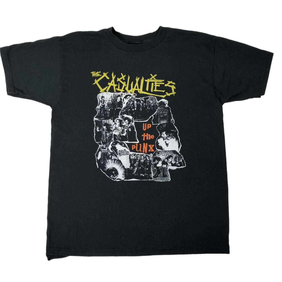 "Vintage The Casualties ""Up The Punx"" T-Shirt - jointcustodydc"