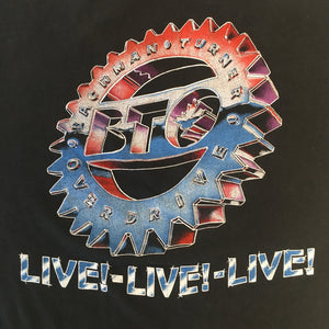 "Vintage Bachman Turner Overdrive ""Half A Ton"" T-Shirt"
