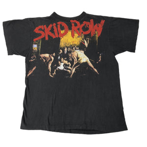 "Vintage Skid Row ""Slave To The Grind"" T-Shirt - jointcustodydc"