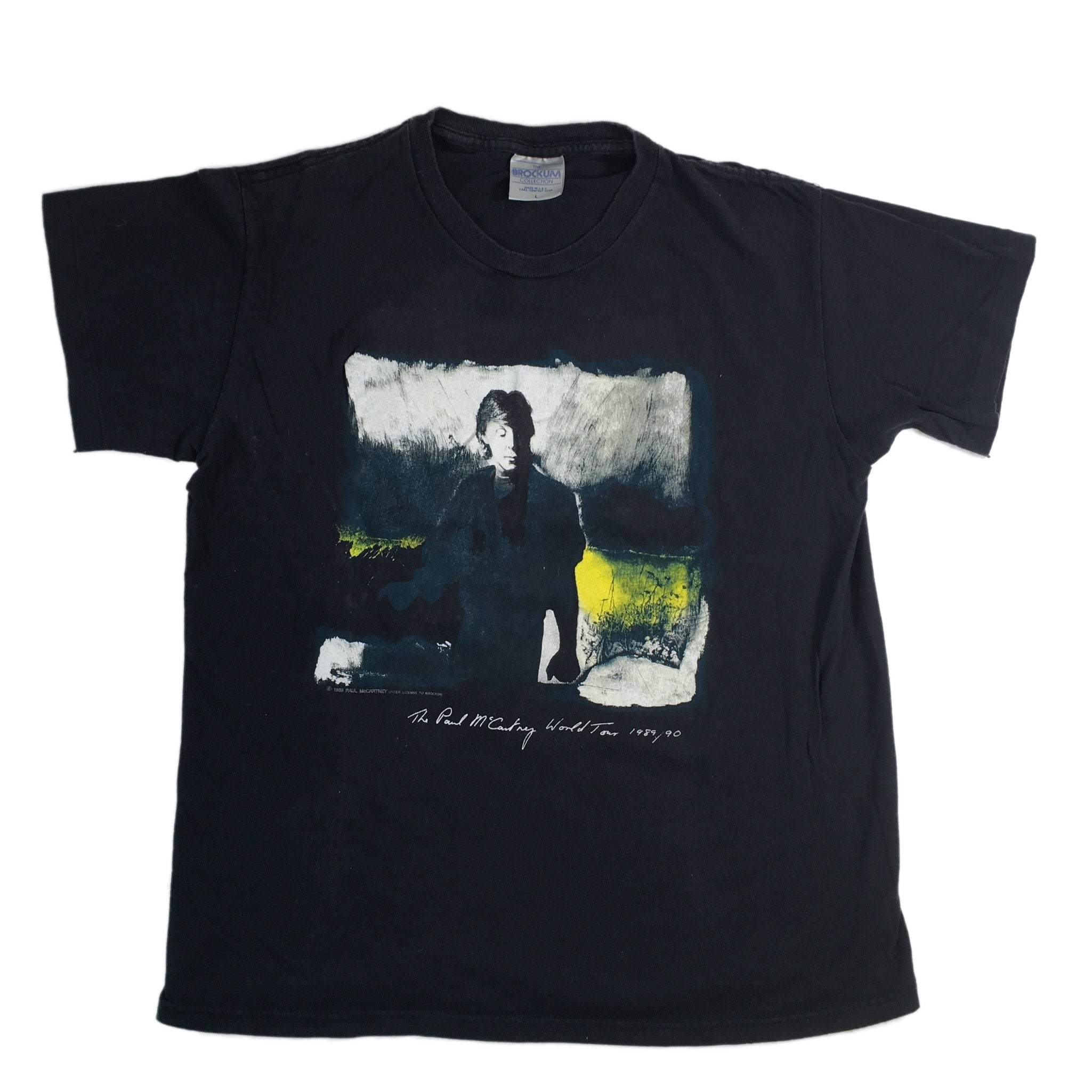 "Vintage Paul McCartney ""89-90"" T-Shirt"
