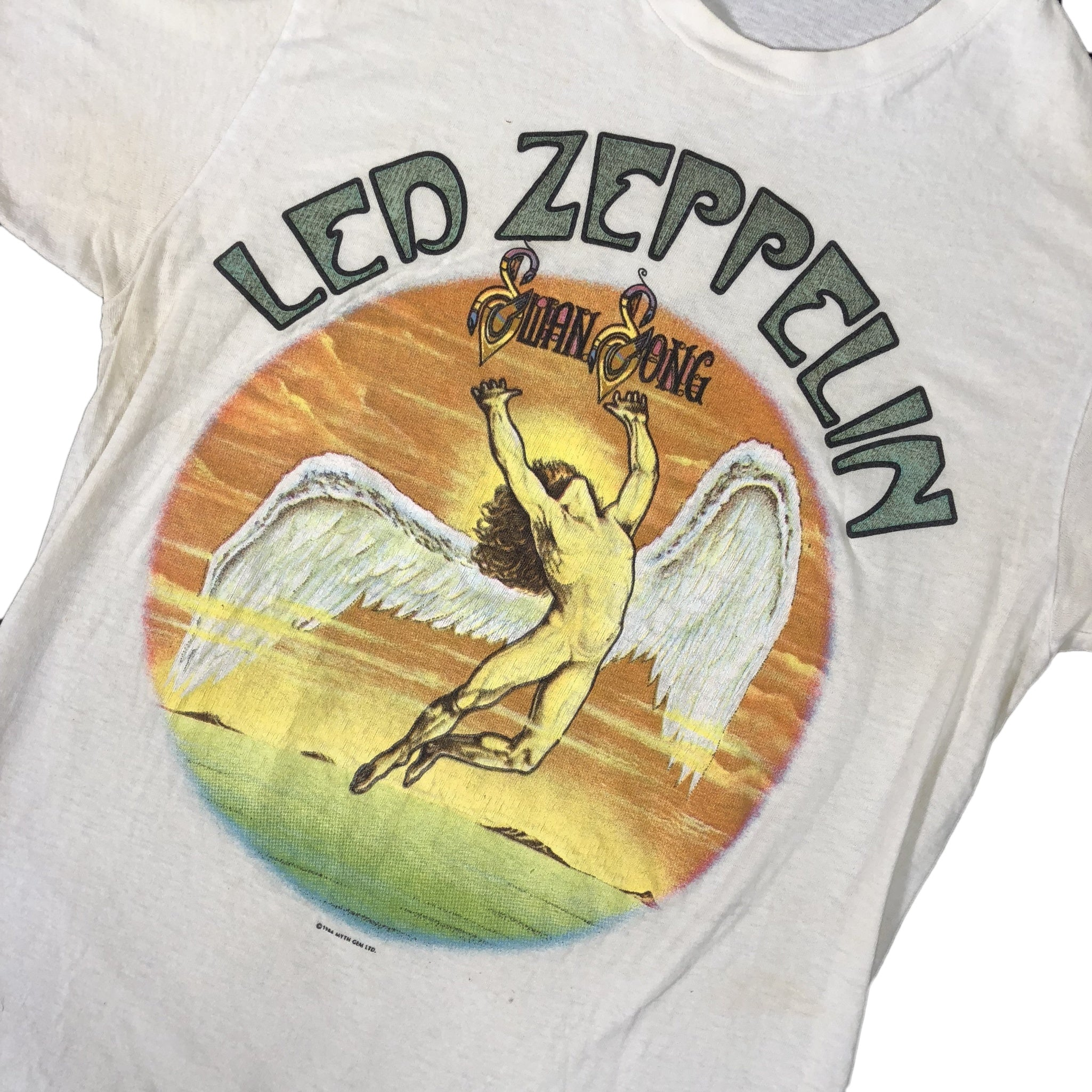 "Vintage Led Zeppelin ""Swan Song"" T-Shirt"