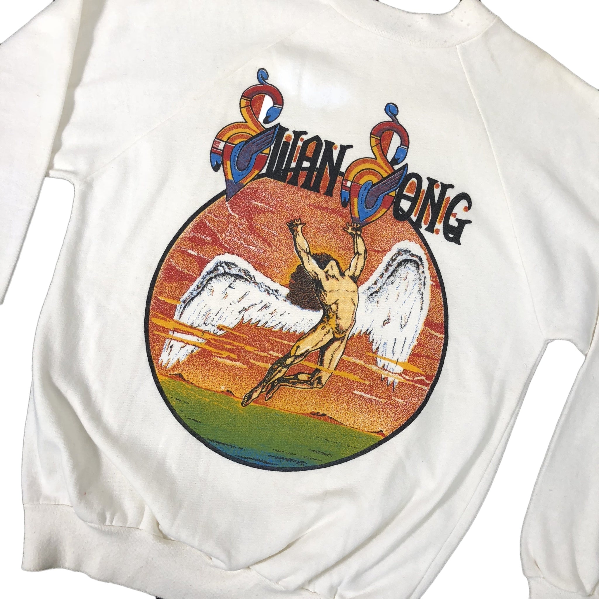 "Vintage Led Zeppelin ""Swan Song"" Crewneck - jointcustodydc"