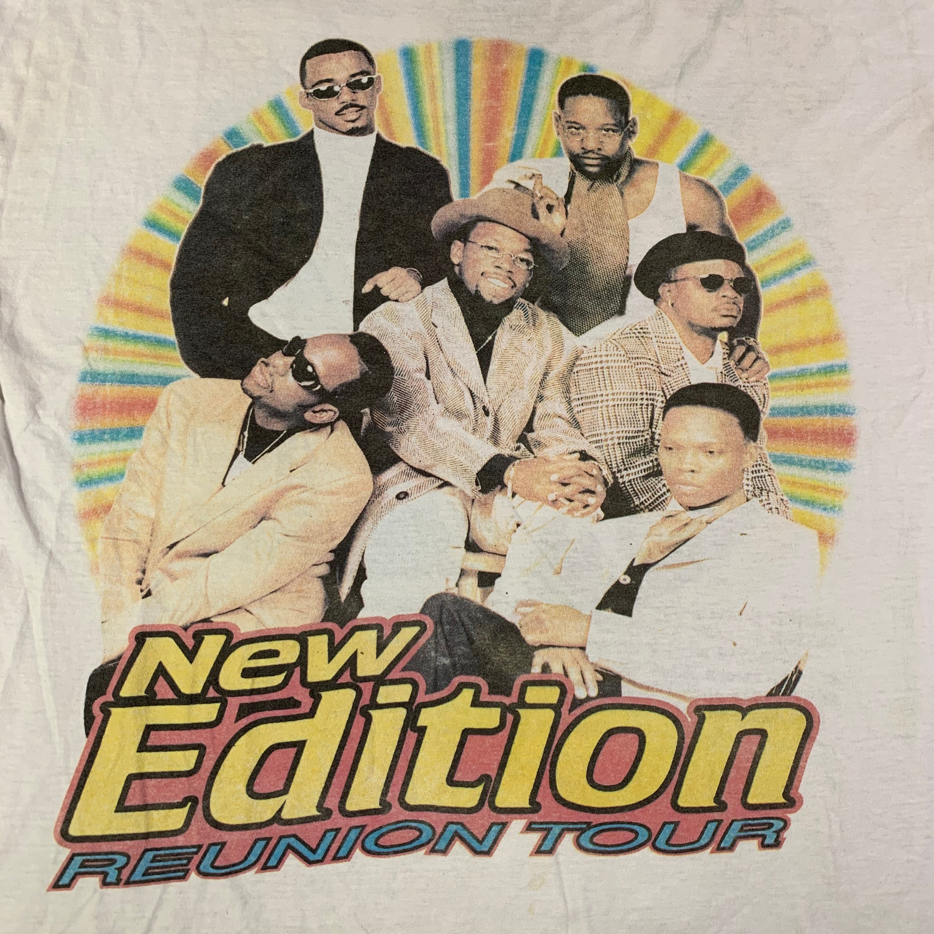 "Vintage New Edition ""Reunion"" T-Shirt"