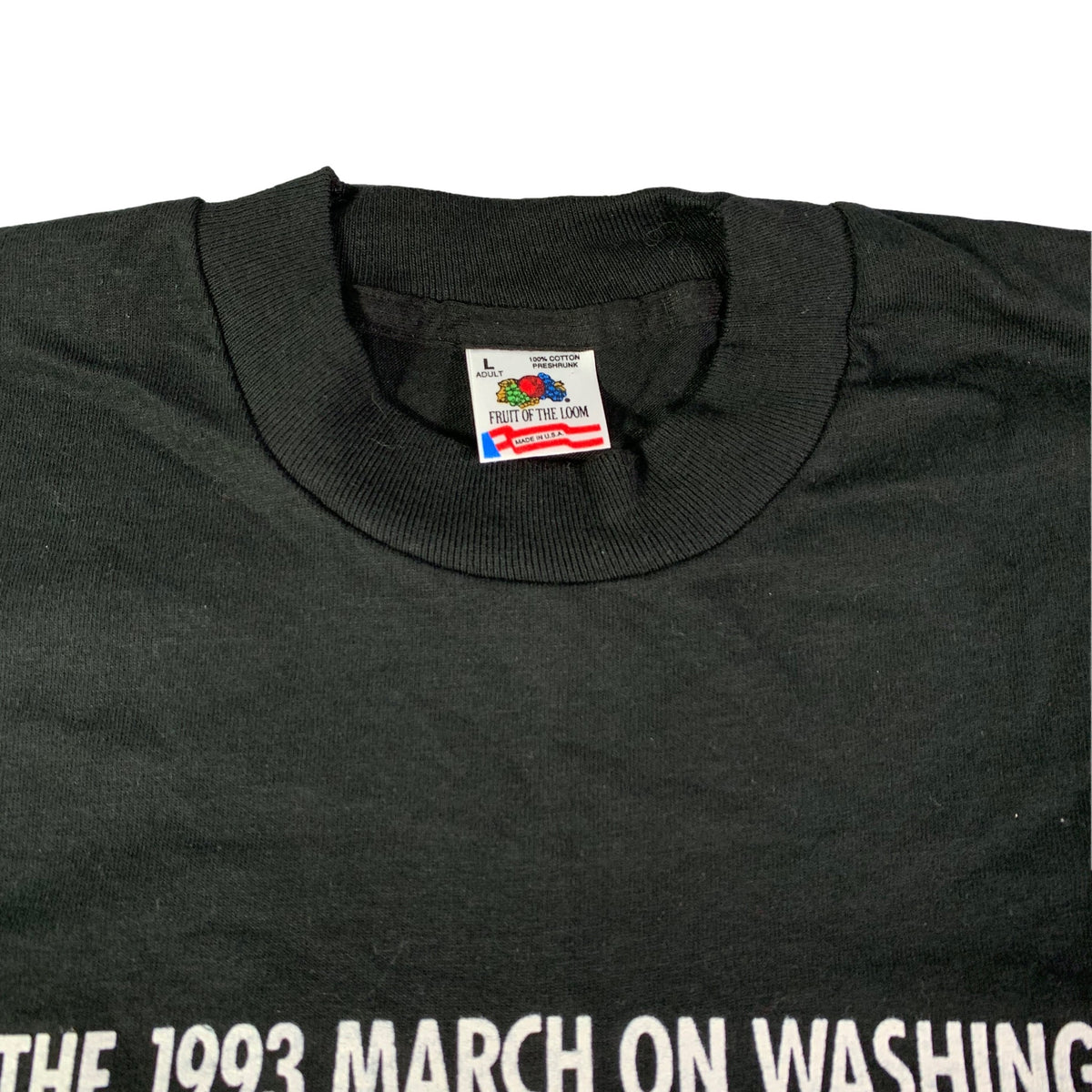 "Vintage Equal Rights And Liberation ""March"" T-Shirt"