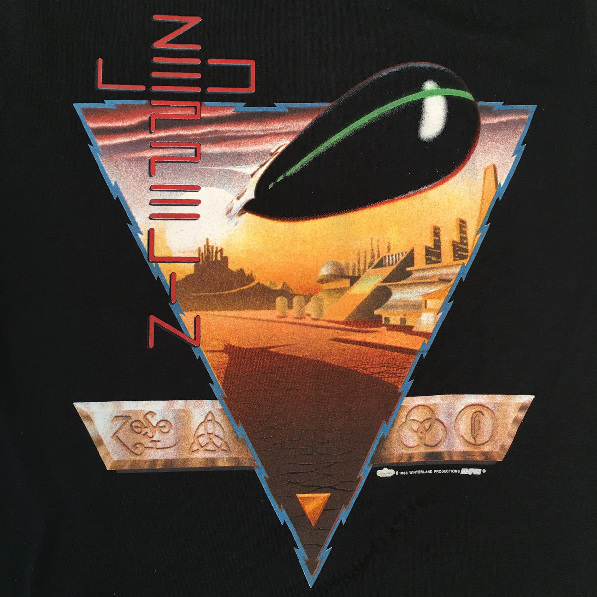 "Vintage Led Zeppelin ""1988"" T-Shirt"