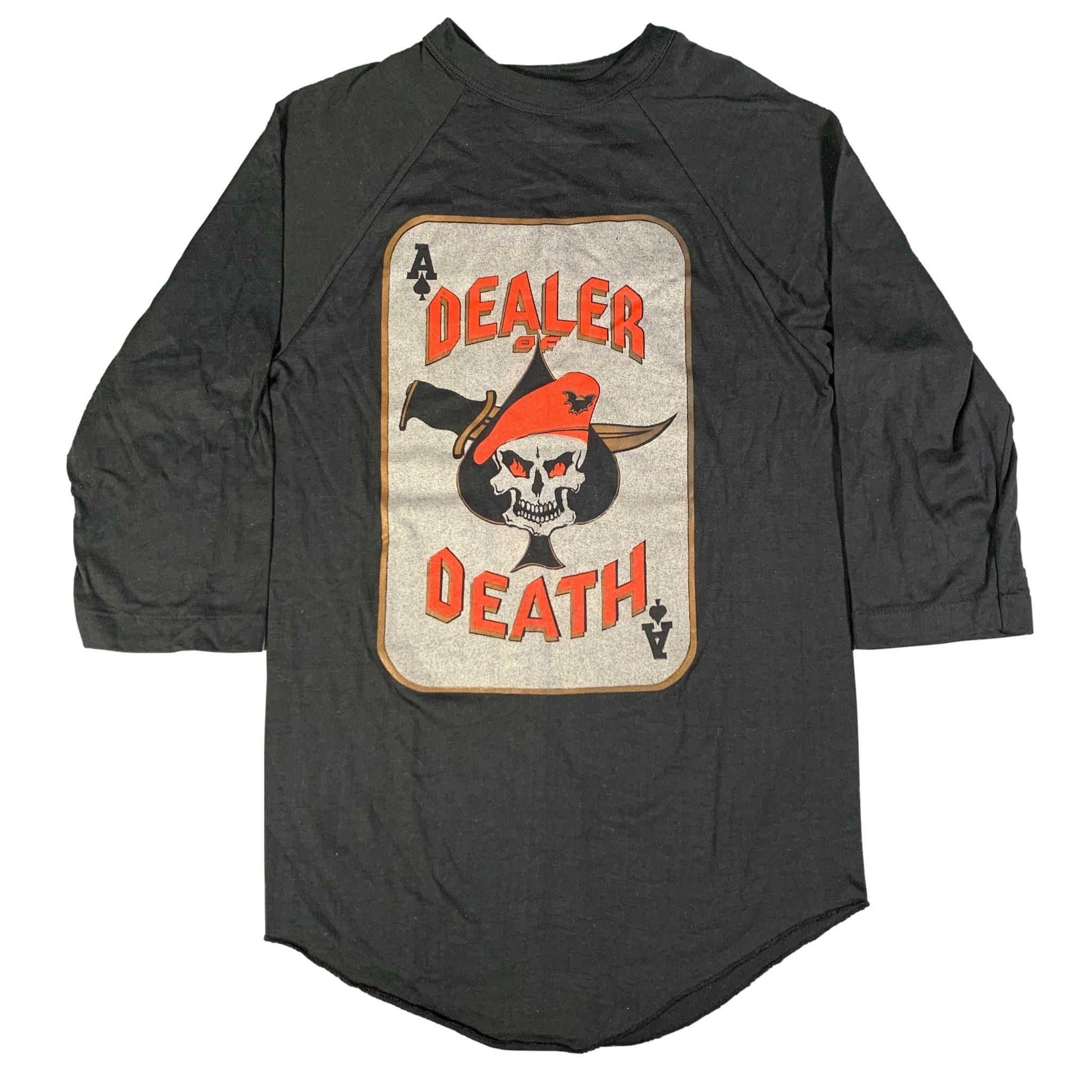 Vintage Original Aces Dealer of Death Raglan Shirt