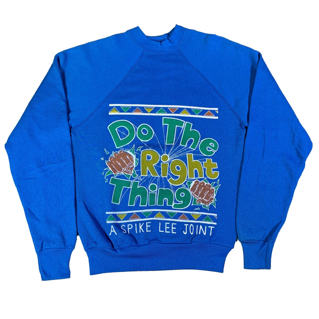 "Vintage Do The Right Thing ""A Spike Lee Joint"" Crewneck Sweatshirt"