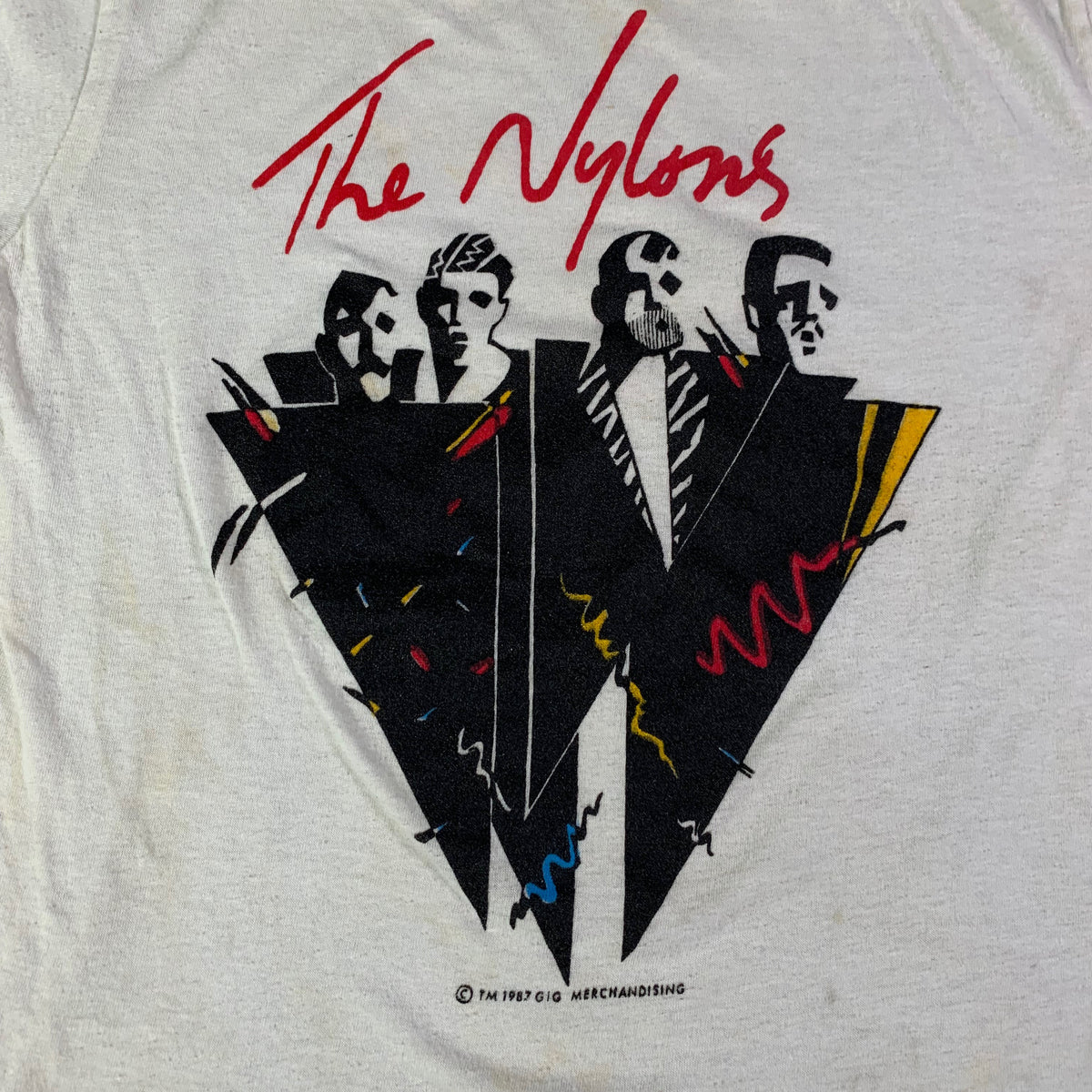 "Vintage The Nylons ""Happy Together"" T-Shirt"