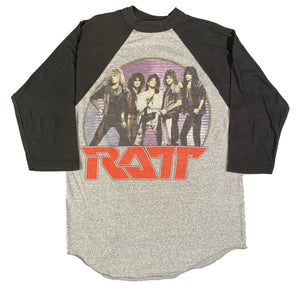 "Vintage Ratt ""Invasion Of Your Privacy"" Raglan"