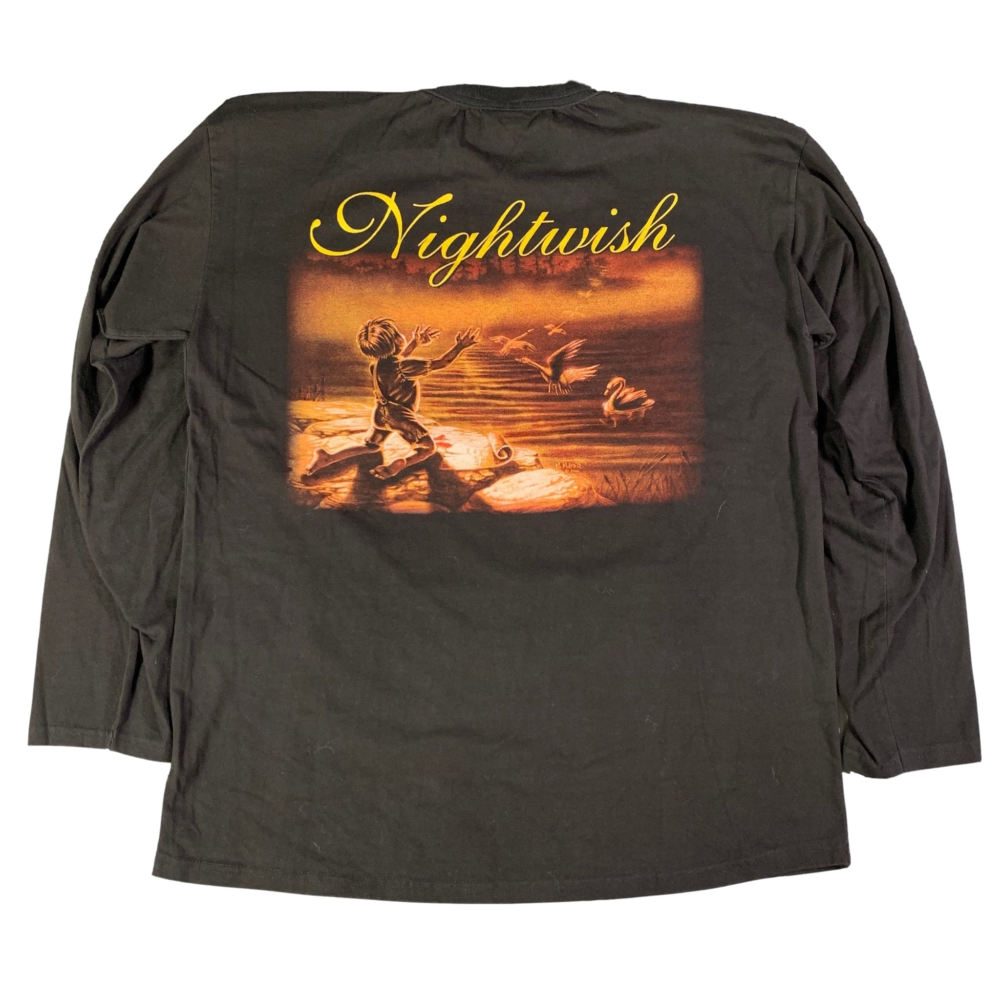 "Vintage Nightwish ""Wishmaster"" Long Sleeve Shirt"