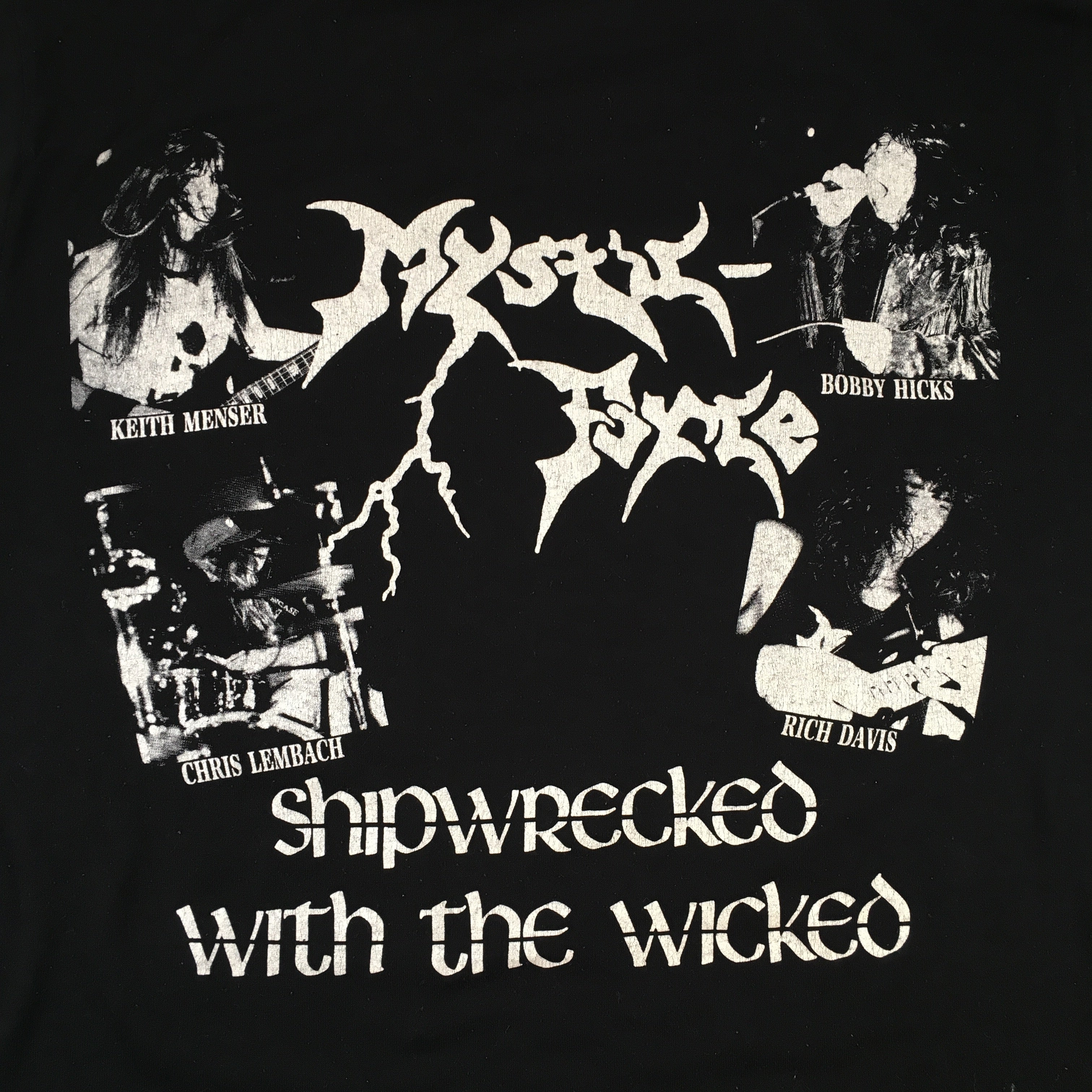 "Vintage Mystic Force ""Shipwrecked"" T-Shirt"