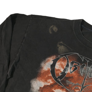 "Vintage Obituary ""World Demise"" Longsleeve Shirt"